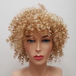 Mini loczki blond - peruka syntetyczna zabawowa