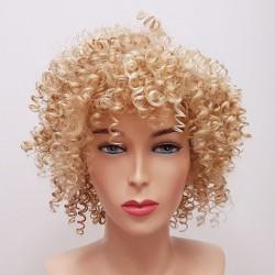 Mini loczki 613/24B blond - peruka syntetyczna