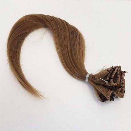 FERNUS CLIP IN 18 KOL. 10 - włosy syntetyczne na spince