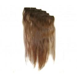 Ella - zestaw 5x pasm blond włosów