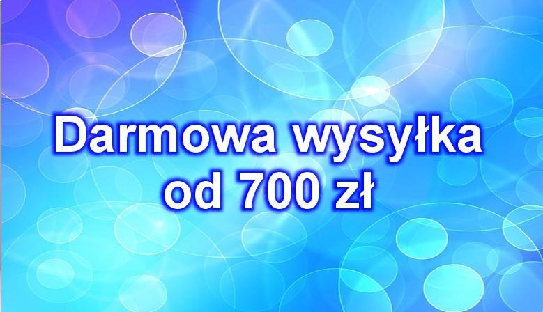 Darmowa wysyłka od 700,00 zł