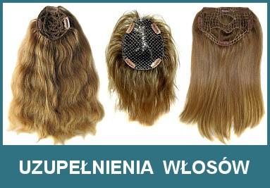 Uzupełnienia włosów